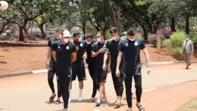 صورة عناصر الفريق الوطني في جولة بمقر اقامتهم