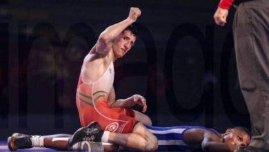 صورة فرقات عبد الكريم يفتك الميدالية البرونزية في مونديال المصارعة الإغريقو-رومانية